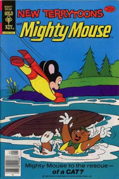 New Terrytoons #54 Comic Books - Covers, Scans, Photos  in New Terrytoons Comic Books - Covers, Scans, Gallery