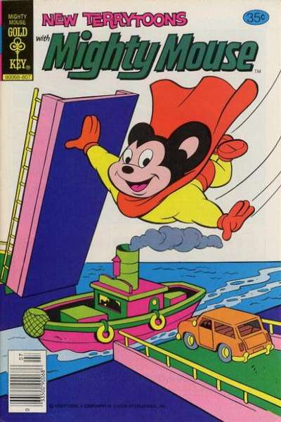 New Terrytoons #51 comic books - cover scans photos New Terrytoons #51 comic books - covers, picture gallery