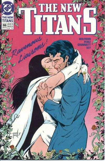 New Titans #66 comic books - cover scans photos New Titans #66 comic books - covers, picture gallery