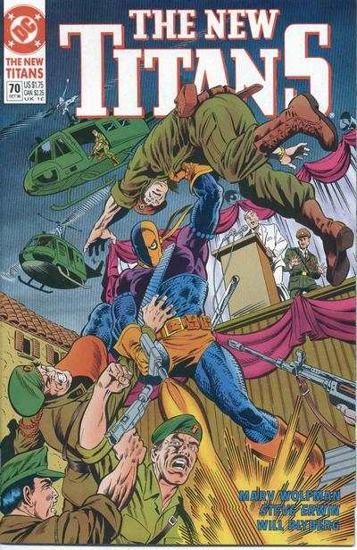 New Titans #70 comic books - cover scans photos New Titans #70 comic books - covers, picture gallery