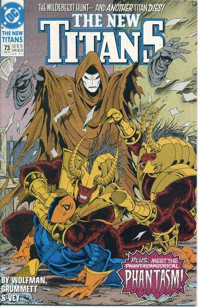 New Titans #73 comic books for sale