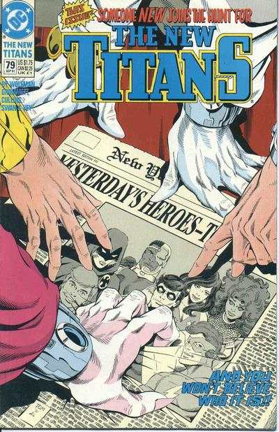 New Titans #79 comic books - cover scans photos New Titans #79 comic books - covers, picture gallery