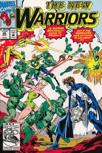 New Warriors #26 comic books for sale