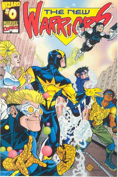 New Warriors #0 comic books for sale