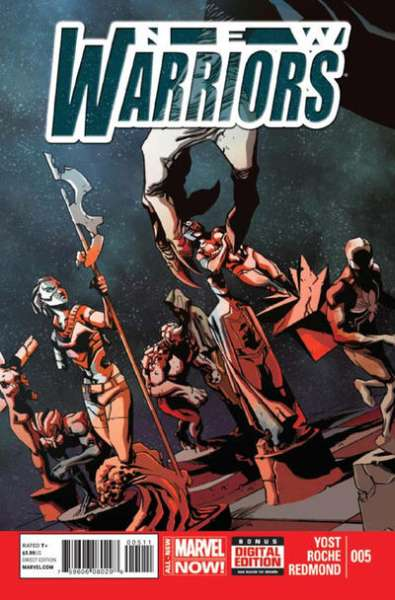 New Warriors #5 comic books - cover scans photos New Warriors #5 comic books - covers, picture gallery