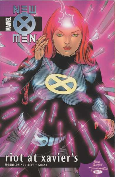 New X-Men #4 comic books - cover scans photos New X-Men #4 comic books - covers, picture gallery