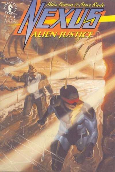 Nexus: Alien Justice # comic book complete sets Nexus: Alien Justice # comic books