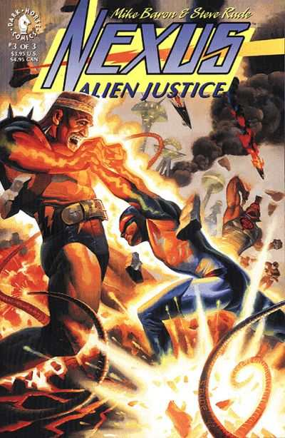 Nexus: Alien Justice #3 Comic Books - Covers, Scans, Photos  in Nexus: Alien Justice Comic Books - Covers, Scans, Gallery