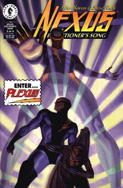 Nexus: Executioner's Song #3 Comic Books - Covers, Scans, Photos  in Nexus: Executioner's Song Comic Books - Covers, Scans, Gallery
