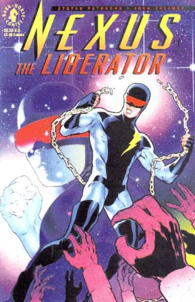 Nexus: The Liberator comic books