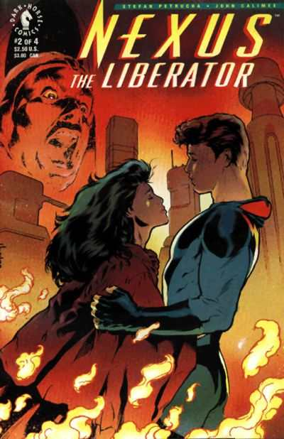 Nexus: The Liberator #2 Comic Books - Covers, Scans, Photos  in Nexus: The Liberator Comic Books - Covers, Scans, Gallery