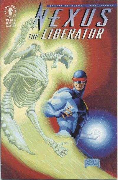 Nexus: The Liberator #3 Comic Books - Covers, Scans, Photos  in Nexus: The Liberator Comic Books - Covers, Scans, Gallery
