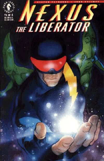 Nexus: The Liberator #4 Comic Books - Covers, Scans, Photos  in Nexus: The Liberator Comic Books - Covers, Scans, Gallery