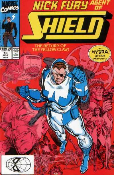 Nick Fury: Agent of SHIELD #13 Comic Books - Covers, Scans, Photos  in Nick Fury: Agent of SHIELD Comic Books - Covers, Scans, Gallery