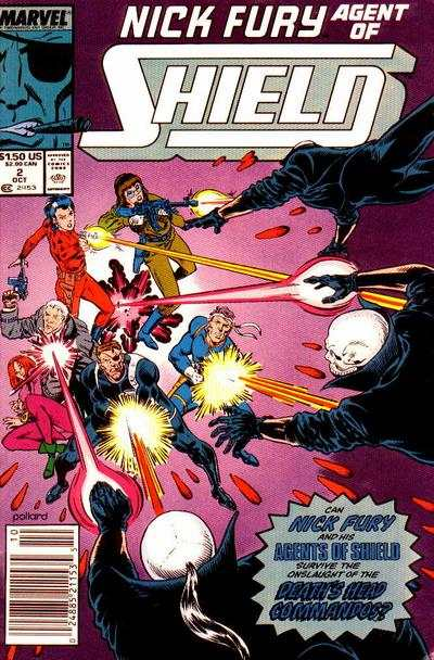 Nick Fury: Agent of SHIELD #2 Comic Books - Covers, Scans, Photos  in Nick Fury: Agent of SHIELD Comic Books - Covers, Scans, Gallery