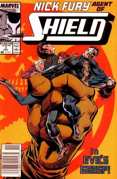 Nick Fury: Agent of SHIELD #3 Comic Books - Covers, Scans, Photos  in Nick Fury: Agent of SHIELD Comic Books - Covers, Scans, Gallery