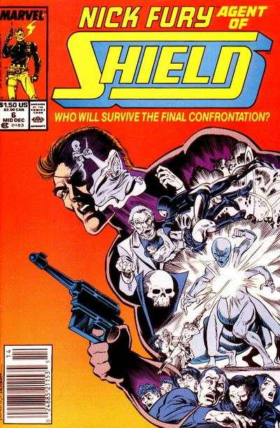 Nick Fury: Agent of SHIELD #6 comic books - cover scans photos Nick Fury: Agent of SHIELD #6 comic books - covers, picture gallery