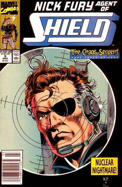 Nick Fury: Agent of SHIELD #9 comic books - cover scans photos Nick Fury: Agent of SHIELD #9 comic books - covers, picture gallery