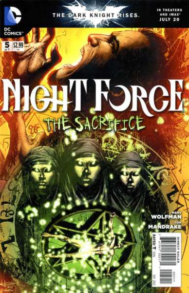 Night Force #5 comic books for sale