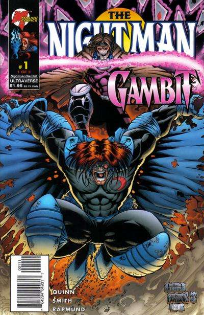 Night Man/Gambit Comic Books. Night Man/Gambit Comics.