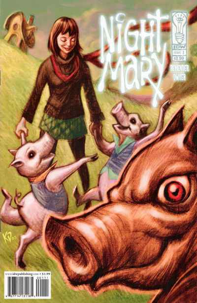 Night Mary comic books