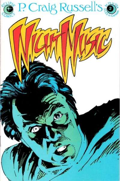 Night Music #2 cheap bargain discounted comic books Night Music #2 comic books