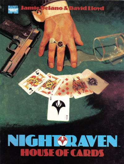 Night Raven: House of Cards #1 comic books - cover scans photos Night Raven: House of Cards #1 comic books - covers, picture gallery
