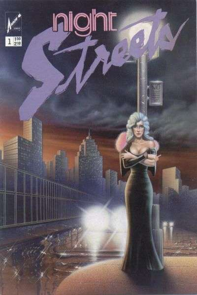 Night Streets #1 comic books - cover scans photos Night Streets #1 comic books - covers, picture gallery