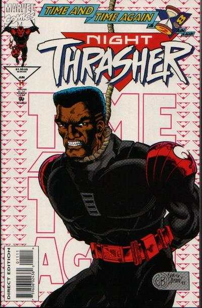 Night Thrasher #11 comic books for sale