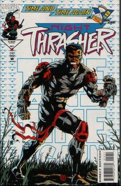 Night Thrasher #12 comic books - cover scans photos Night Thrasher #12 comic books - covers, picture gallery