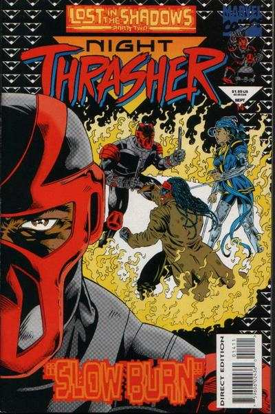 Night Thrasher #14 comic books - cover scans photos Night Thrasher #14 comic books - covers, picture gallery