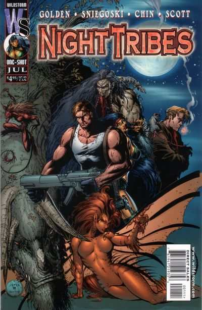 Night Tribes #1 comic books - cover scans photos Night Tribes #1 comic books - covers, picture gallery