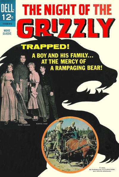 Night of the Grizzly comic books