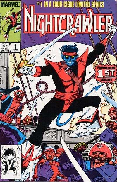 Nightcrawler # comic book complete sets Nightcrawler # comic books