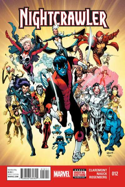 Nightcrawler #12 comic books for sale