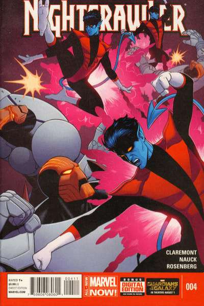 Nightcrawler #4 comic books for sale