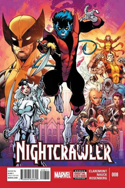 Nightcrawler #8 comic books for sale
