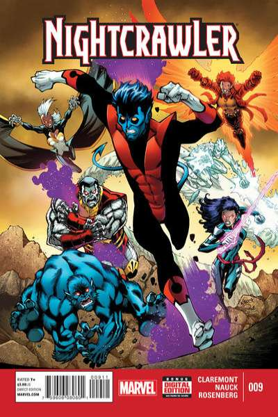 Nightcrawler #9 comic books for sale