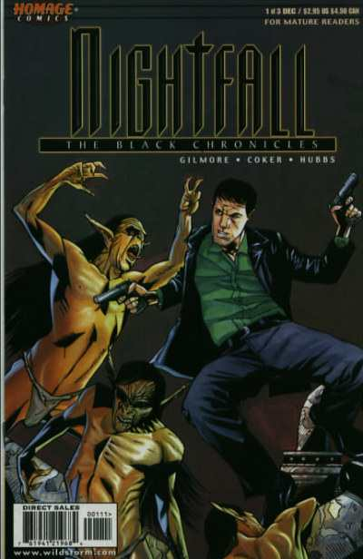 Nightfall: The Black Chronicles #1 comic books - cover scans photos Nightfall: The Black Chronicles #1 comic books - covers, picture gallery