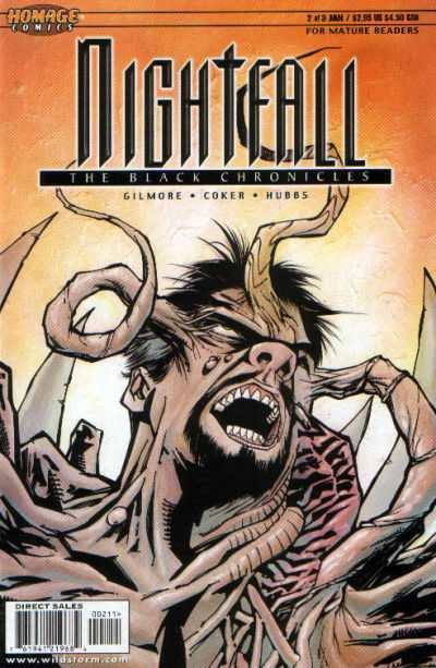 Nightfall: The Black Chronicles #2 Comic Books - Covers, Scans, Photos  in Nightfall: The Black Chronicles Comic Books - Covers, Scans, Gallery
