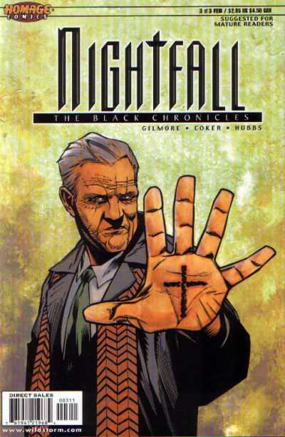 Nightfall: The Black Chronicles #3 comic books - cover scans photos Nightfall: The Black Chronicles #3 comic books - covers, picture gallery