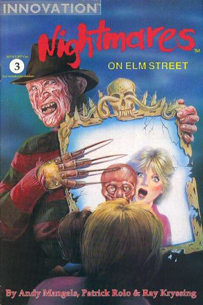 Nightmares on Elm Street #3 Comic Books - Covers, Scans, Photos  in Nightmares on Elm Street Comic Books - Covers, Scans, Gallery