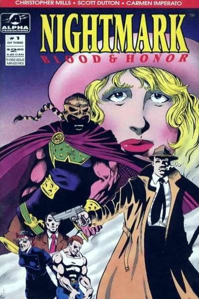 Nightmark: Blood & Honor #1 comic books - cover scans photos Nightmark: Blood & Honor #1 comic books - covers, picture gallery