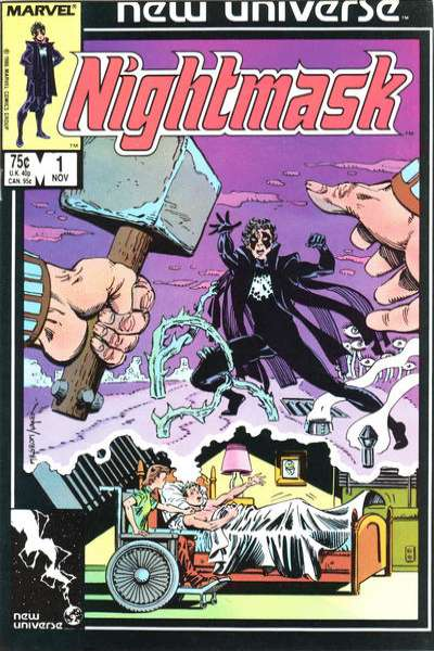 Nightmask # comic book complete sets Nightmask # comic books
