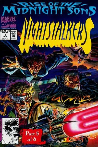 Nightstalkers Comic Books. Nightstalkers Comics.