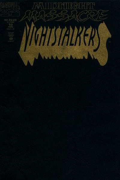 Nightstalkers #10 comic books for sale