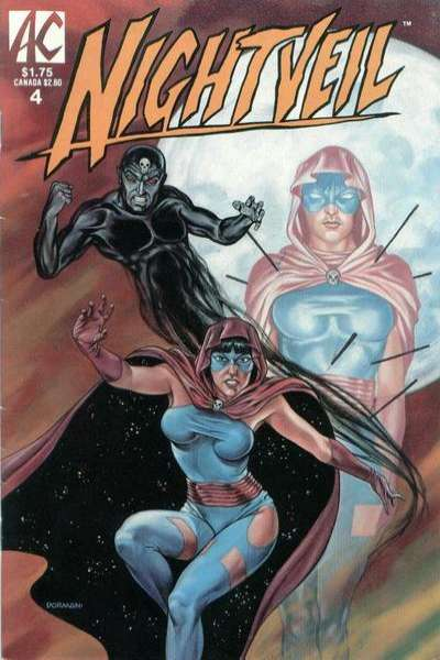 Nightveil #4 Comic Books - Covers, Scans, Photos  in Nightveil Comic Books - Covers, Scans, Gallery