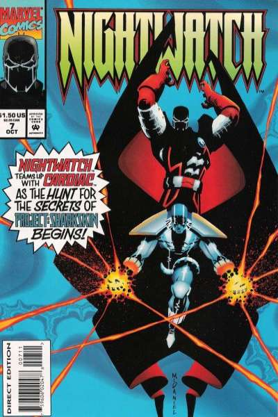 Nightwatch #7 Comic Books - Covers, Scans, Photos  in Nightwatch Comic Books - Covers, Scans, Gallery
