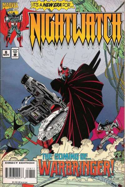Nightwatch #8 comic books for sale