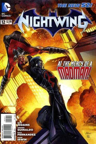 Nightwing #12 Comic Books - Covers, Scans, Photos  in Nightwing Comic Books - Covers, Scans, Gallery